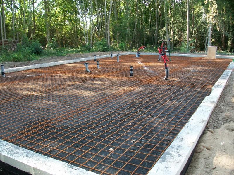 hormigón armado para suelos