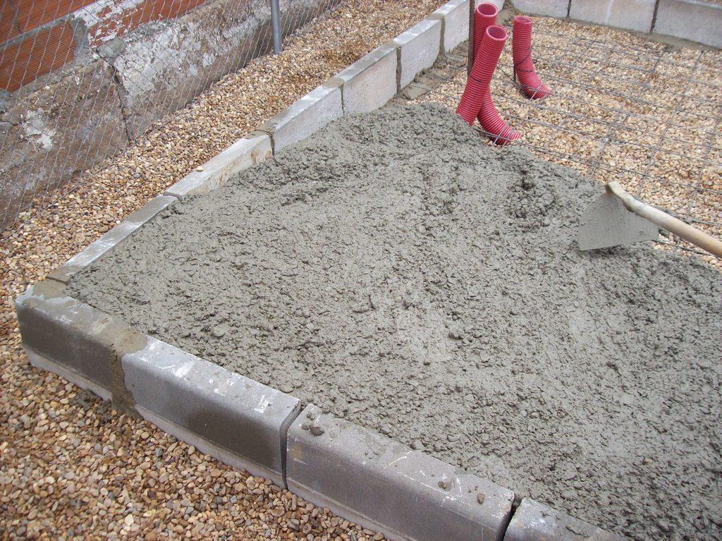 espesor solera de cemento - hormigon