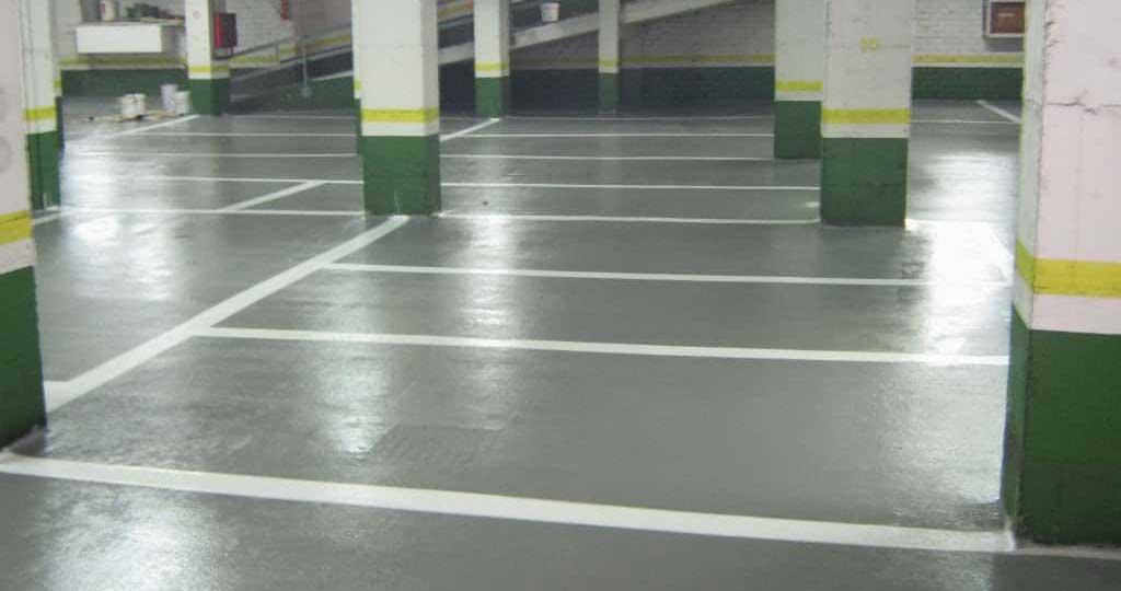 pavimento parking y garaje