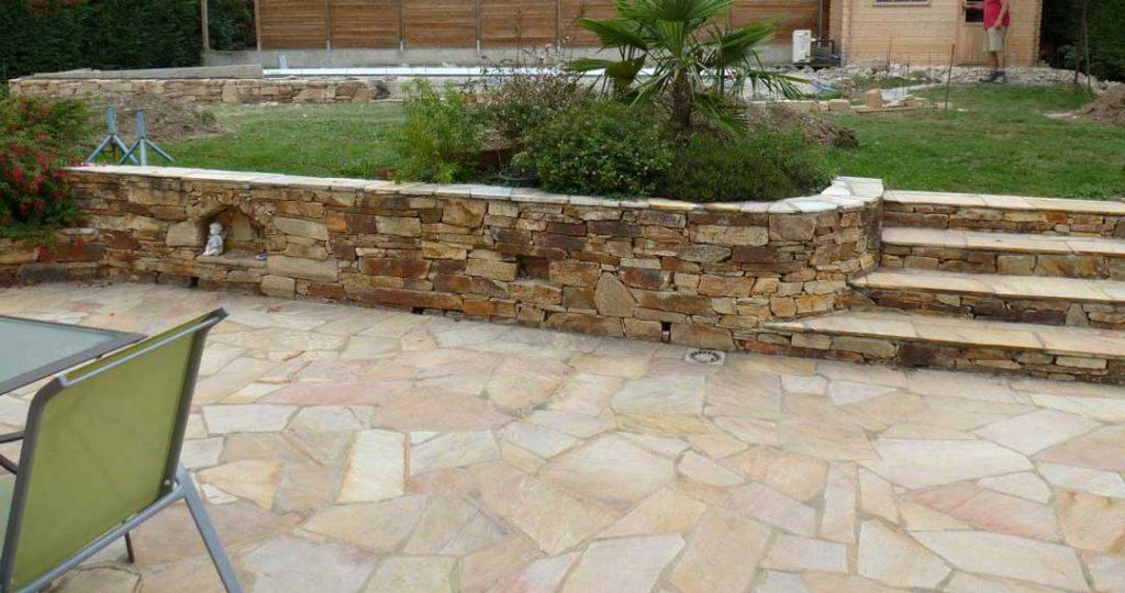 piedra natural para su terraza