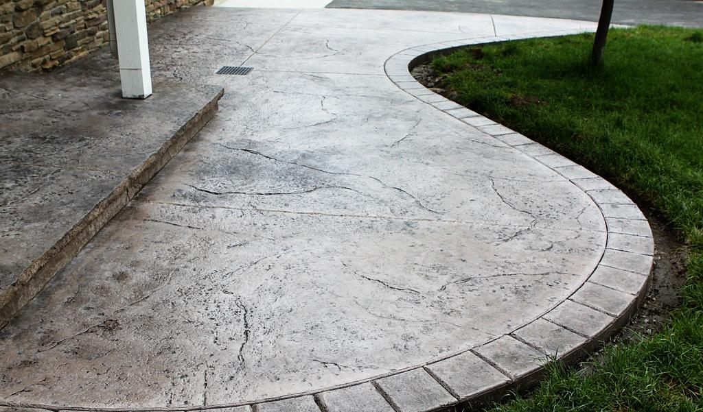 pavimento impreso imitación manta