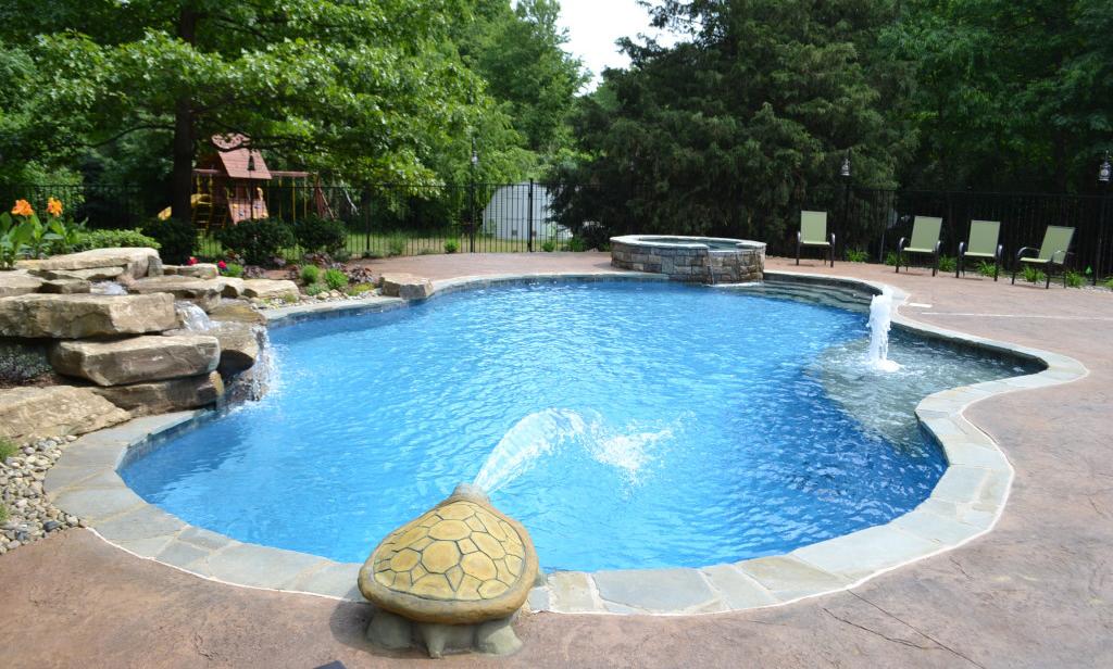 suelo impreso para su piscina