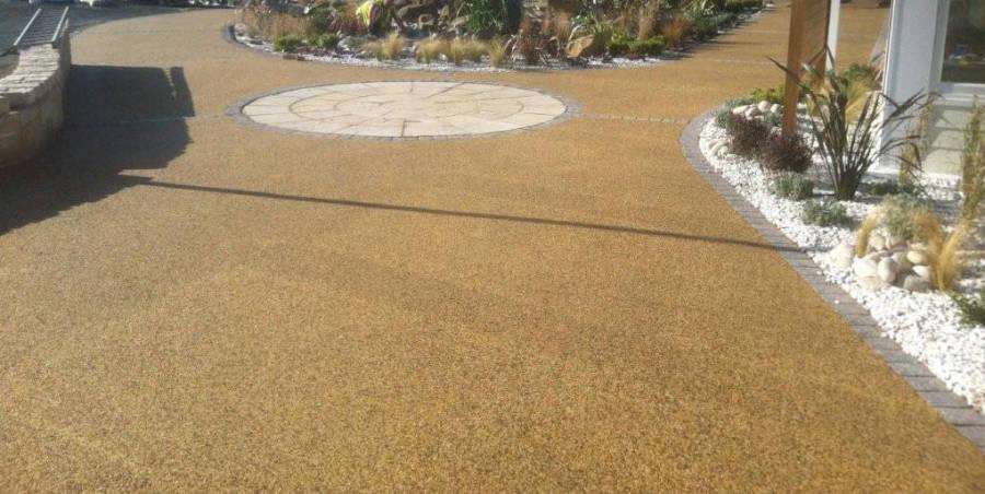 suelo pavimento drenante